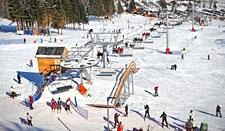 Atrakcje jakie poleca Państwu pensjonat Gościniec Pod Czeremchą - ośrodek narciarski Czarna Góra w miejscowości Sienna